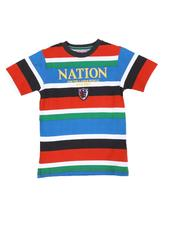 Boys - Multi Stripe Tee (4-7)-2586050