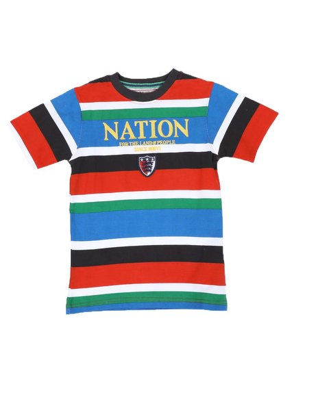 Parish - Multi Stripe Tee (4-7)