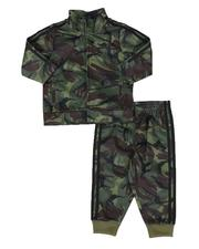 Boys - 2 Pc Action Camo Track Jacket & Track Pants Set (3-24Mo)-2586057