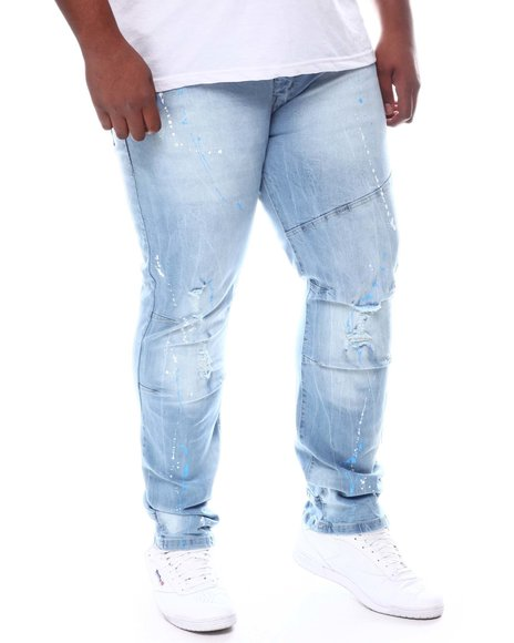 Buyers Picks - Paint Splatter Relaxed Denim Jeans (B&T)