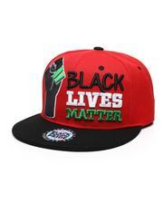Men - BLM#1 Fist Snapback Hat-2587141