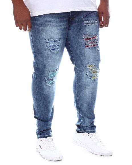 Buyers Picks - Rip & Repair Color Patch Jeans (B&T)