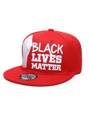 Men - BLM#1 Fist Snapback Hat-2587135