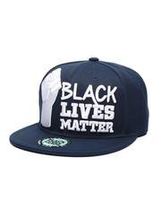 Men - BLM#1 Fist Snapback Hat-2587140