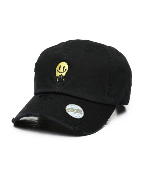 Buyers Picks - Melting Smiley Face Vintage Dad Hat