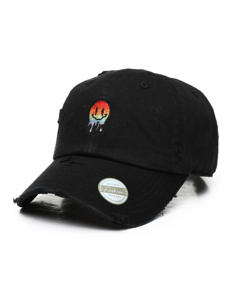 Buyers Picks - Multi Melting Smiley Dad Hat
