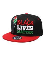 Men - BLM#1 Fist Snapback Hat-2587142