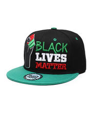 Men - BLM#1 Fist Snapback Hat-2587143
