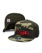 Hats - Hustle Star Snapback Hat-2587249