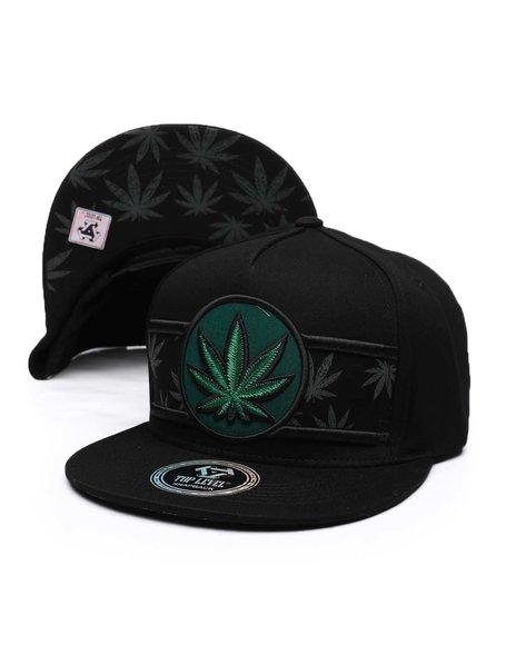 Buyers Picks - Marijuana Snapback Hat
