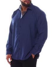 Men - Pattern Long Sleeve Woven Shirt (B&T)-2587065
