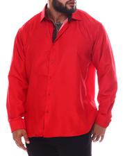 Men - Pattern Long Sleeve Woven Shirt (B&T)-2587070