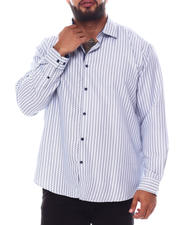 Men - Pattern Long Sleeve Woven Shirt (B&T)-2587104