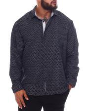 Men - Pattern Long Sleeve Woven Shirt (B&T)-2587114