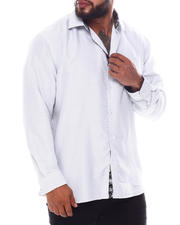 Men - Pattern Long Sleeve Woven Shirt (B&T)-2587123