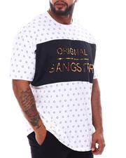 Men - Original Gangster Embossed Foil T-Shirt (B&T)-2587530