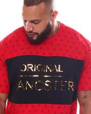 Men - Original Gangster Embossed Foil T-Shirt (B&T)-2587534