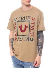 True Religion - SS Square Logo Crew-2588342