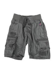 Bottoms - Washed Poplin Cargo Shorts (2T-4T)-2587166