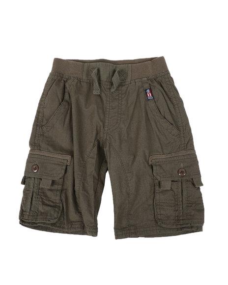 Phat Farm - Washed Twill Cargo Shorts (4-7)