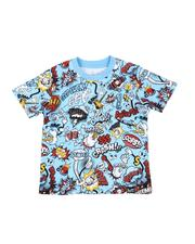Arcade Styles - Comic All Over Print Tee (4-7)-2587253