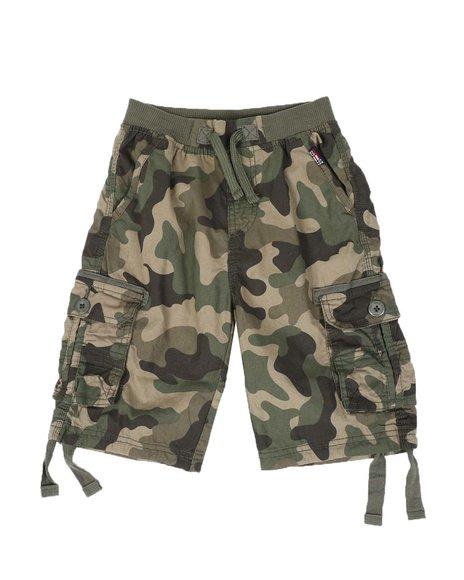 Phat Farm - Camo Cargo Shorts (8-18)