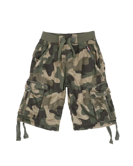 Phat Farm - Camo Cargo Shorts (4-7)