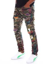 Kloud 9 - Paint Splatter Cargo Pant-2588418