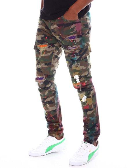Kloud 9 - Paint Splatter Cargo Pant