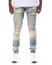 Men - Distressed Clean Wash Jean-2586957