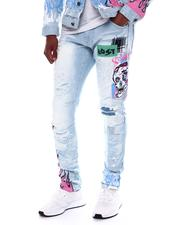 Men - Slim Fit Skull Jean-2588544
