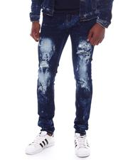 Industrial Indigo - Distressed Indigo Jeans-2588670