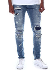 Men - Slim Distressed Contrast Treatment Jean-2588366