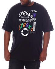 Crooks & Castles - Ruling Elite T-Shirt (B&T)-2589275
