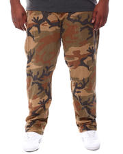 Pants - Freedom Carrot Fit 9 Pocket Camo Cargo Pants (B&T)-2587853
