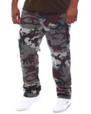 Pants - Freedom Carrot Fit 9 Pocket Camo Cargo Pants (B&T)-2587880