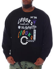 Crooks & Castles - Rulin Elite Crewneck Sweatshirt (B&T)-2588679
