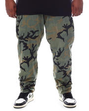 Pants - Freedom Carrot Fit 9 Pocket Camo Cargo Pants (B&T)-2587712