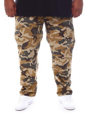 Pants - Freedom Carrot Fit 9 Pocket Camo Cargo Pants (B&T)-2587864