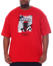 Crooks & Castles - Checkers T-Shirt (B&T)-2588621