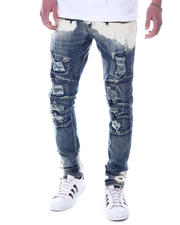 Jeans & Pants - ACID SPLATTER WASH Moto Jean-2589343