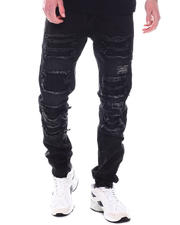 Buyers Picks - Black Bleach Ripped Jean-2589408
