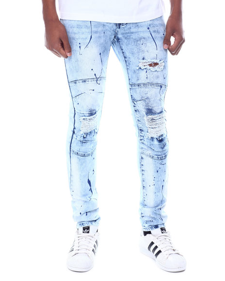 Buyers Picks - Arc Knee Paint Splatter Moto Jean