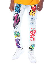Jeans & Pants - Graffiti Jean-2591336