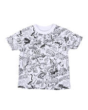 Arcade Styles - Comic All Over Print Tee (4-7)-2587265