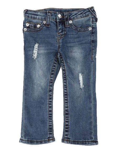 True Religion - Geno Straight Leg Jeans (2T-4T)