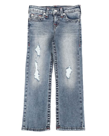 True Religion - Big T Straight Jeans (4-7)