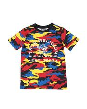 Boys - Camo All Over Tee (8-20)-2588948