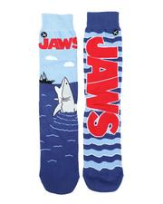 DRJ SOCK SHOP - Jaws Open Wide Crew Socks-2587242