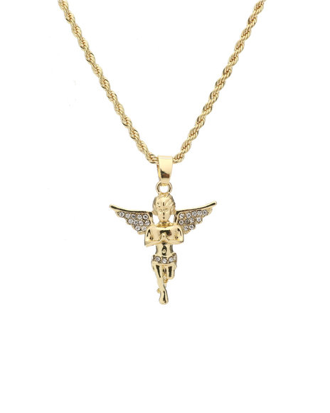 Buyers Picks - Praying Hands Angel Chain Necklace